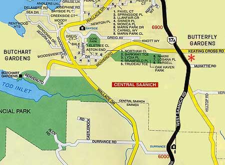 Image Result For Butchart Gardens Map