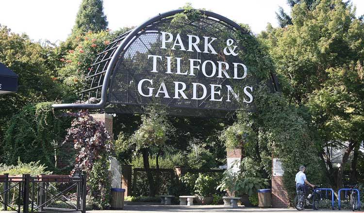 Park Amp Tilford Gardens North Vancouver
