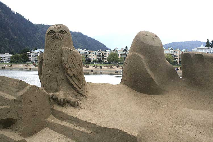 Harrison Hot Springs Sand Castles